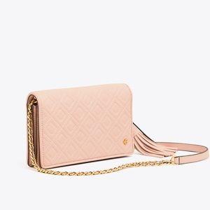 NWT Fleming flat wallet cross-body
